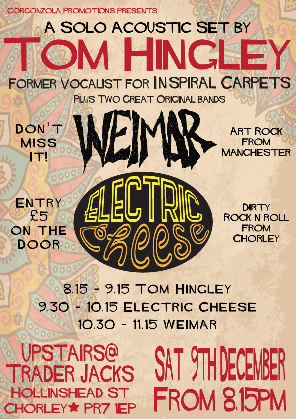 electric cheese, weimar and tom hingley